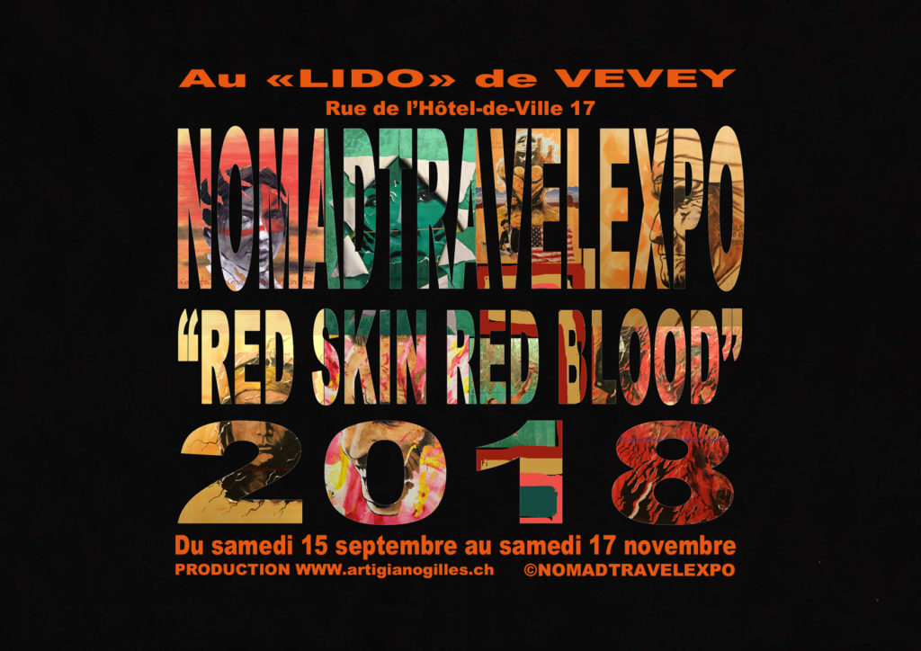©NOMADTRAVELEXPO RED SKIN RED BLOOD 2018 au Lido de Vevey