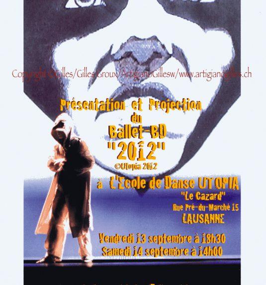 Gilles,, et le festival BD-FIL de Lausanne