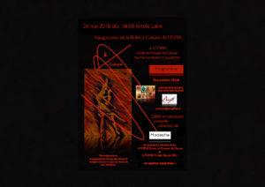 Inauguration ©Boîte à Culture d'UTOPIA 26.05.2018