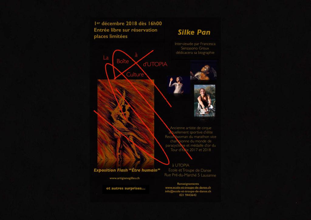 ©La Boîte à Culture Silke Pan 1.12.2018 Evénement