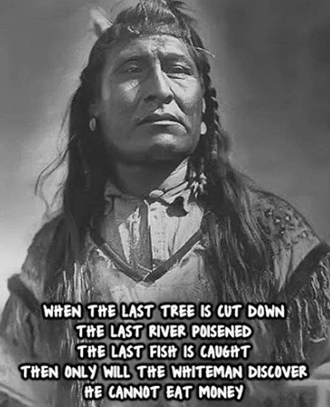 Dicton d'Indien cherokee