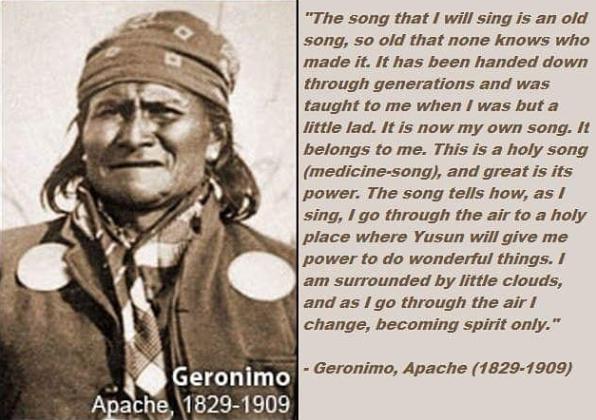 Geronimo :  Perles de sagesse