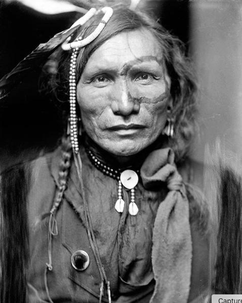 Portrait de Natif Américain