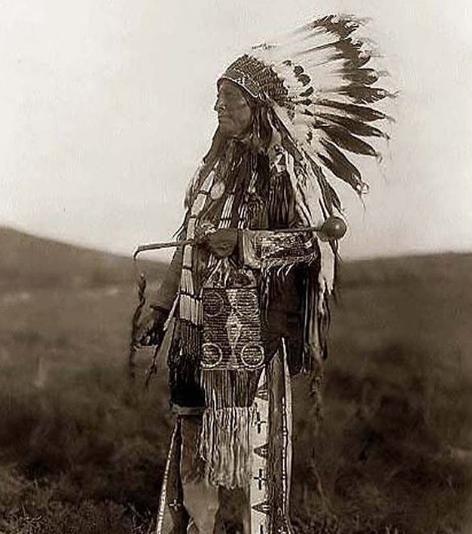Portrait de Natif américain du Nord